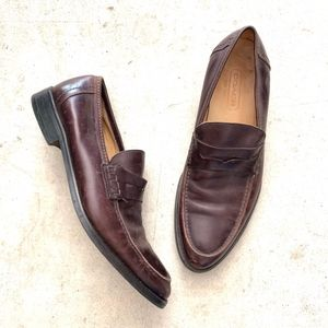 COACH Slip-on Penny Loafers Dress Oxford Shoes